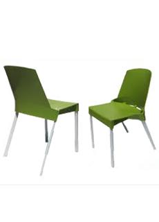 Muebles de oficina silla visita polipropileno shine s b - Muebles de polipropileno ...