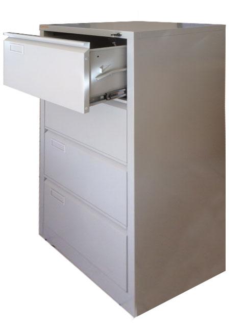 Muebles de Oficina  KARDEX ARCHIVADOR 4 CAJONES METALICO