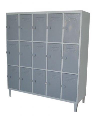 Muebles de oficina locker casillero 5 cuerpos 15 puertas for 5 muebles de oficina