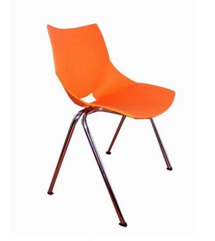 Muebles de oficina silla de visita shell polipropileno - Muebles de polipropileno ...